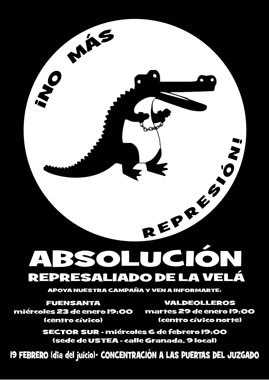 !No más represión¡ Absolución represaliado de la Velá