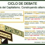 Ciclo de debate: Análisis del capitalismo. Construyendo alternativas.