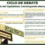 Ultimo encuentro del CICLO: ANÁLISIS DEL CAPITALISMO. CONSTRUYENDO ALTERNATIVAS.